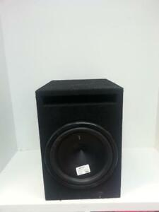 Hertz ES 10'' Dual Voice Subwoofer in Box. We Buy and Sell Used Car Audio! (#48968) AT81477