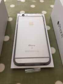 APPLE IPHONE 6S 16GB * SILVER * UNLOCKED * PERFECT GIFT