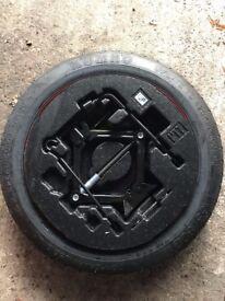 "2007-2017 Hyundai i40 Space Saver Spare 17"" wheel & Tyre Jack & Wheel Spanner"