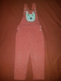 Boden dungarees size 2-3 years