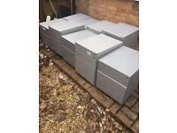 Under desk storage filing cabinet by Task metal cabinets bargain