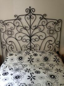 DOUBLE ORNATE HEADBOARD
