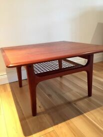 Retro Danish modern coffee table