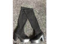 Women's thigh boots
