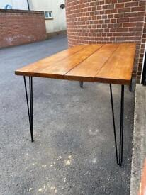 Bespoke rustic dining table - ask for quote