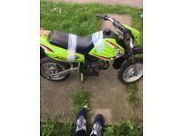 2x mini motos for sale