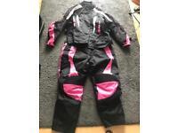 Ladies motorbike suit