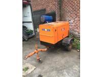 Arc gen 330d diesel generator welder fast tow trailer