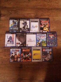 ps2 games bundle (13 games - Final Fantasy, Tekken, Lego Star Wars etc)