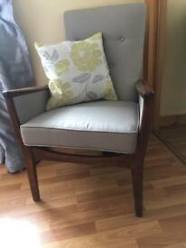 Parker Knol occasional chair upstyled