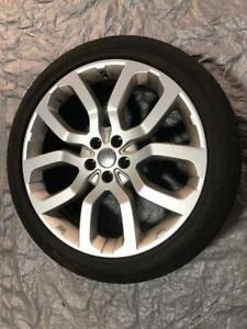 OEM 22 Land Rover Range Rover wheels (Style 504) with Tires