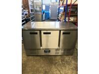 Commercial bench counter pizza fridge for pizza meat chiller restaurant kajajs