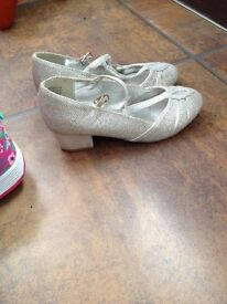 Monsoon girls shoes size 12