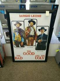 Poster & Frame - The Good, the Bad and the Ugly
