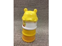 Winnie the Pooh Formula Food Snack Storage Container - £2