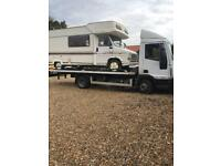24/7 CAR VAN RECOVERY TOWING TRUCK VEHICLE BREAKDOWN TRAILER TIPPER MOPED DELIVERY SCRAP JUMP START