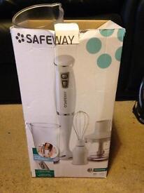 Safeway handheld blender + whisk