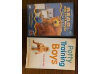 Potty training dvd book