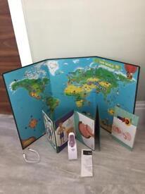 Leapfrog tag pen world & body map