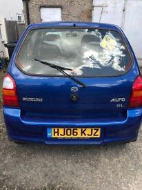 2006 Suzuki alto gl 1.1, Petrol, Manual , Blue