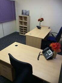 Furnished Unfurnished 3-5 Person Office Suite Space To Rent Let North Somerset W-S-M