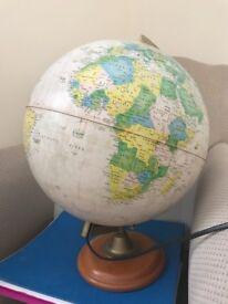Light up globe
