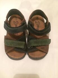 Leather Sandals - size 6 toddler