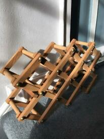 Wooden Wine Rack (8 Slots)