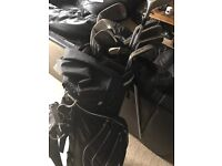 Bag of golf clubs