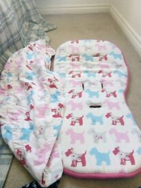 Bugaboo donkey liner and hood