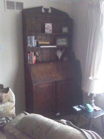 Tall Oak Dresser around 1910