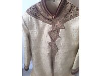Mens sherwani practically brand new