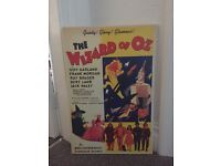 Wizard of Oz canvas wall poster