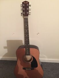 Fender Dreadnought Natural Acoustic Guitar