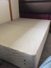 Double Bed Base with Bedstead