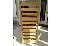 Pine Wood Apple Storage Rack