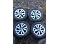 "16 inch Genuine Volkswagen Alloy Wheels. 16"""