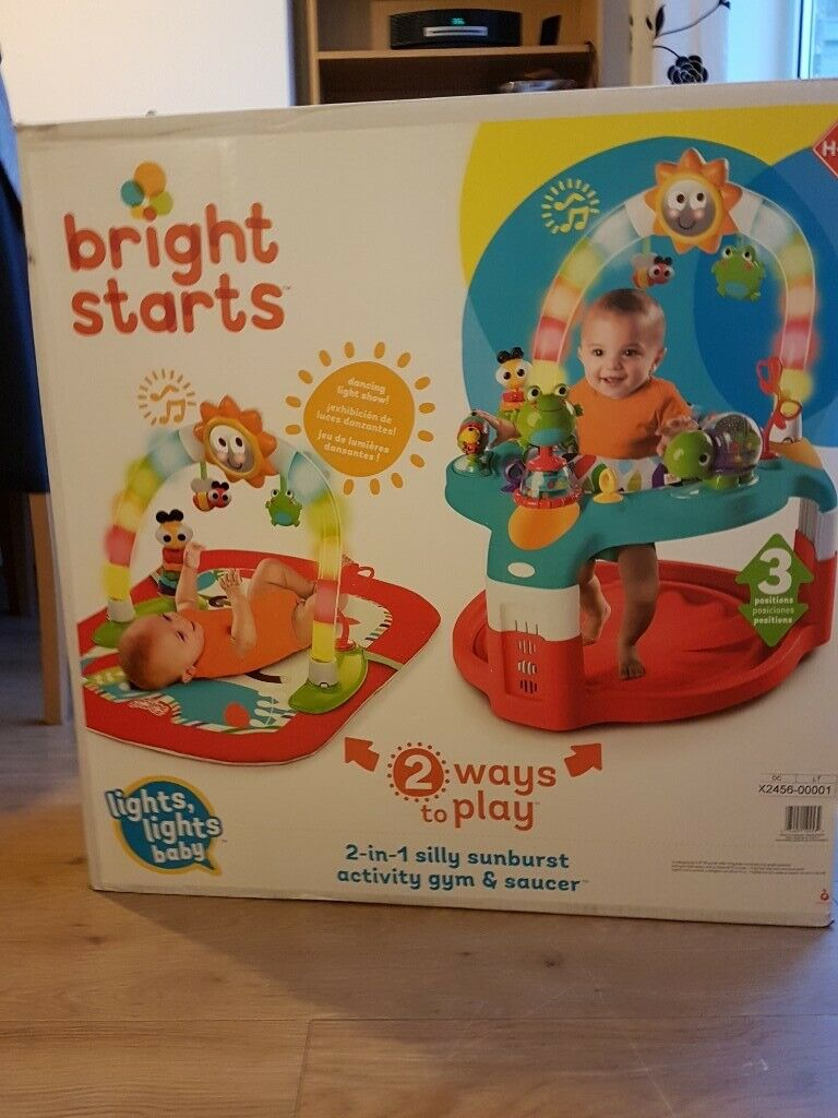 4ed7ae161 Bright starts 2-in-1 activity gym.