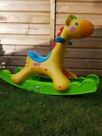 Fisher Price Kids Musical Giraffe Rocker