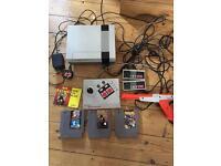 Nintendo Nes bundle games and arcade stick