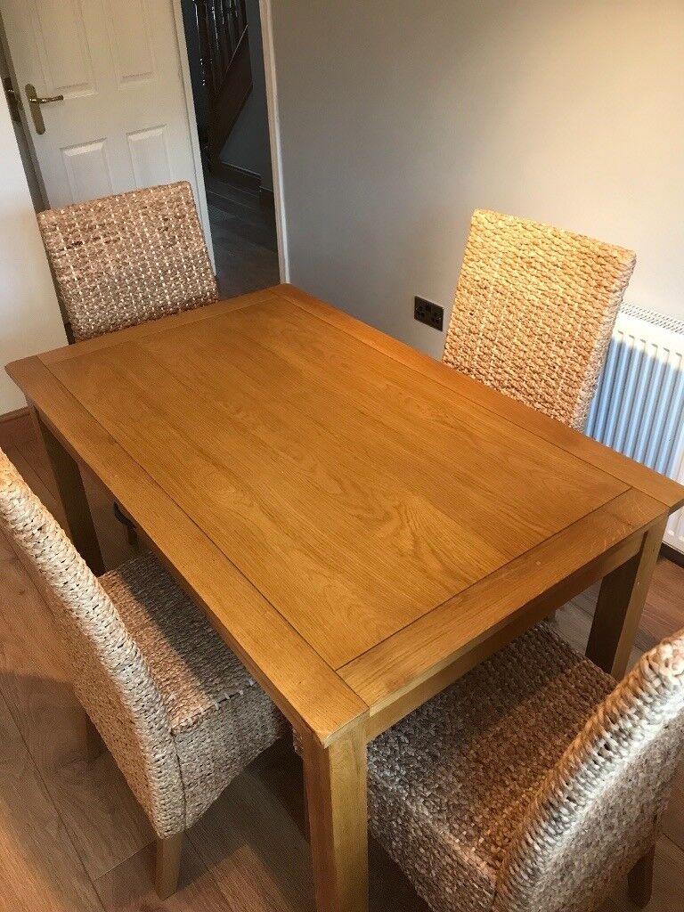 Dining Chairs X4 Hamilton