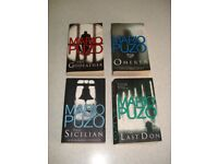 MARIO PUZO THE GODFATHER+ 3 OTHER BOOKS BY HIM