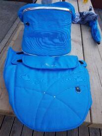 silver cross wayfarer/pioneer colour pack - blue