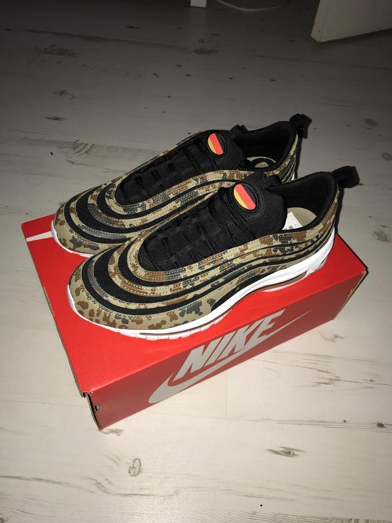 ... nike air max 97 qs country camo germany edition uk 10.5