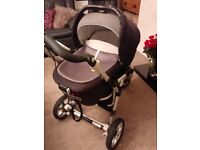 Jane Transporter Carrycot pram/3-wheeler buggy