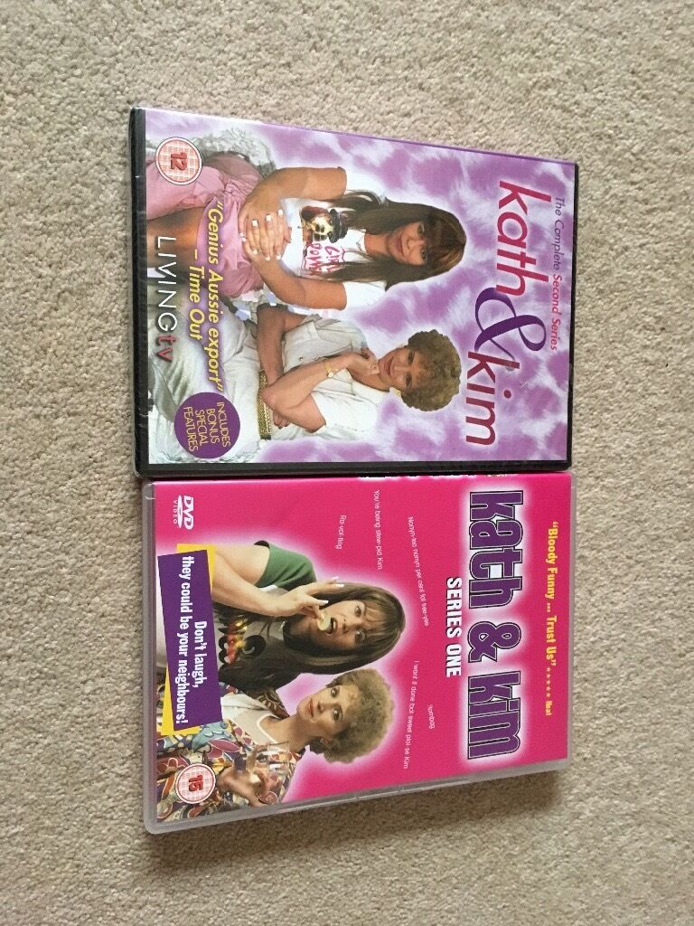 Kath & Kim series one and two unopened brand new dvd's