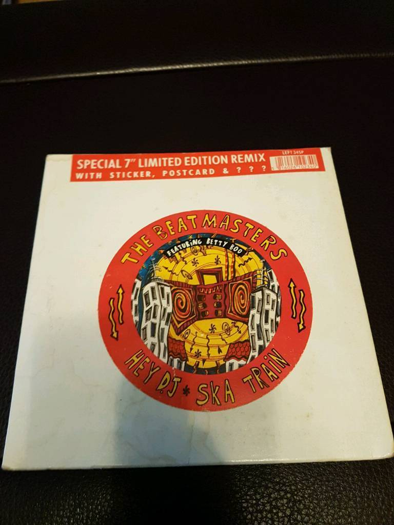"""Limited Edition 7"""" The Beatmasters featuring Betty Boo"""