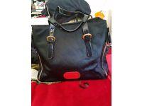 Genuine Black Emporio Armani Handbag
