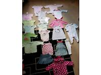 Baby Girl 3-6 months bundle of 20 items