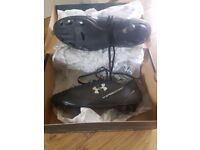 Under Armour football boots size 6 like new in box